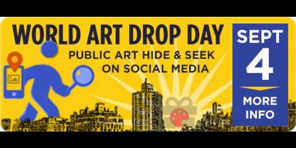 World  Art Drop Day
