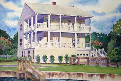 """18""""x24"""" Personalized Home Portrait - Original / Custom Artwork"""