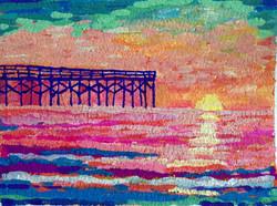 Crystal Pier at Sunrise