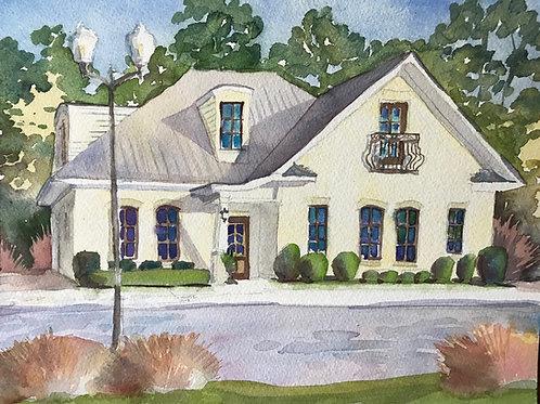 """10""""x14"""" Personalized Home Portrait / Original / Custom Artwork"""