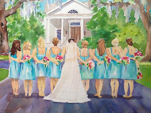 Custom Wedding Paintings, Original