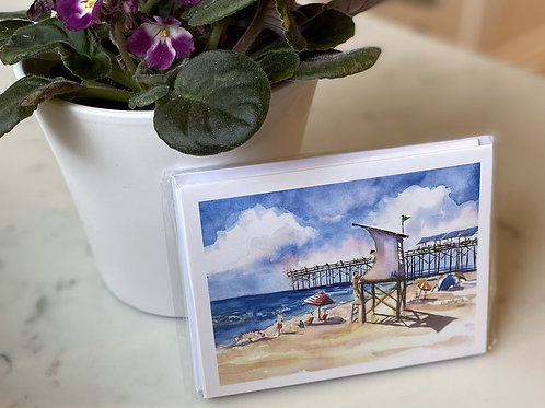 Wrightsville Beach Note Cards