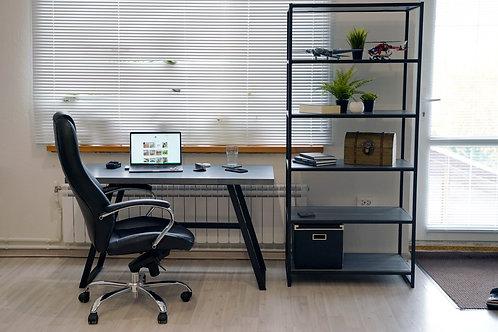 Комплект: стол + стеллаж