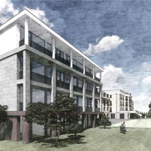 Az új épületszárny egy modernebb stílust képvisel majd. Építését hamarosan megkezdjük, megtartva az ősfás park adta egyedi hangulatot.