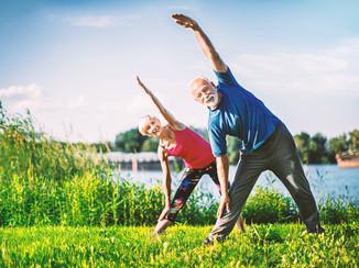 Nemcsak a benti tornára van lehetőség, az épületen kívül a friss levegőn egészségesebb a testedzés.
