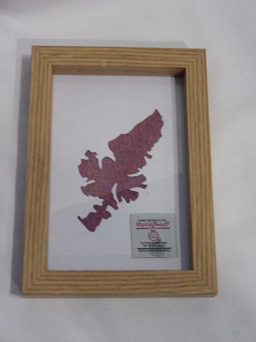 Isle of Lewis map frame