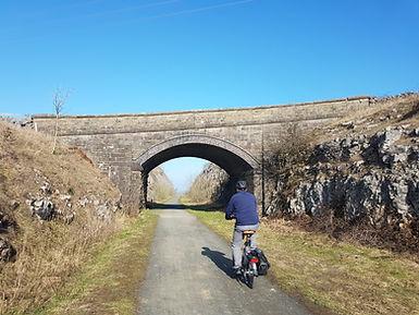Cycle hie Asbourne, Peak District.