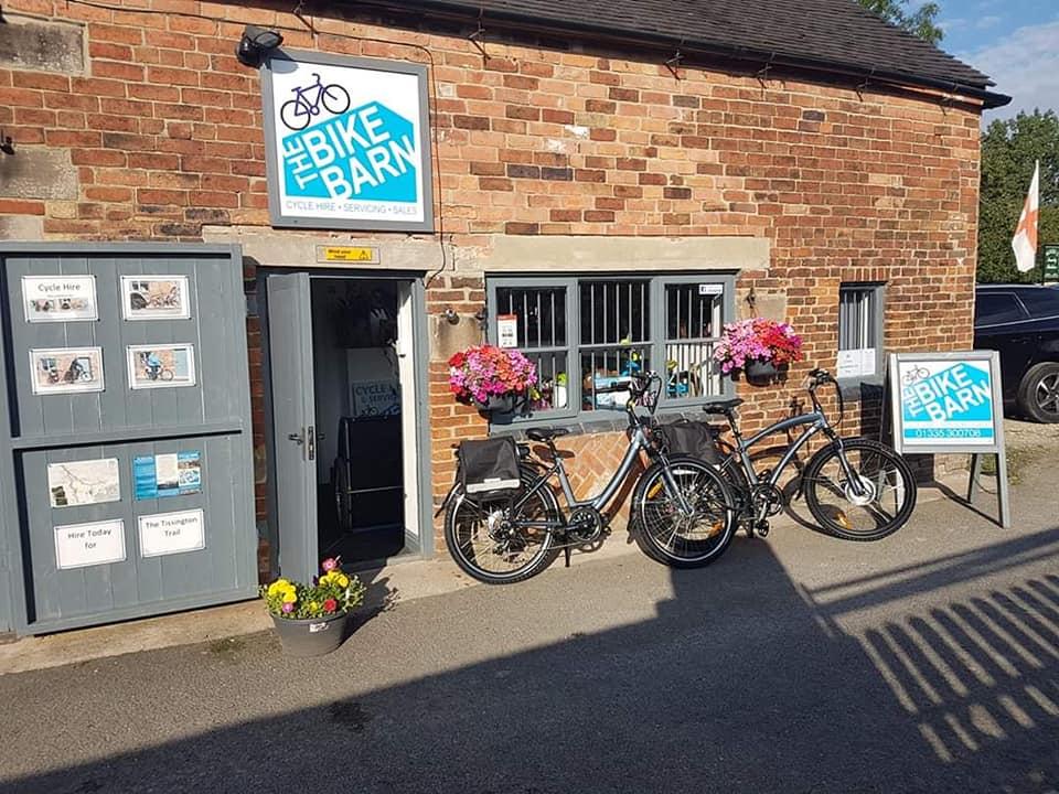 E-bike hire at The Bike Barn