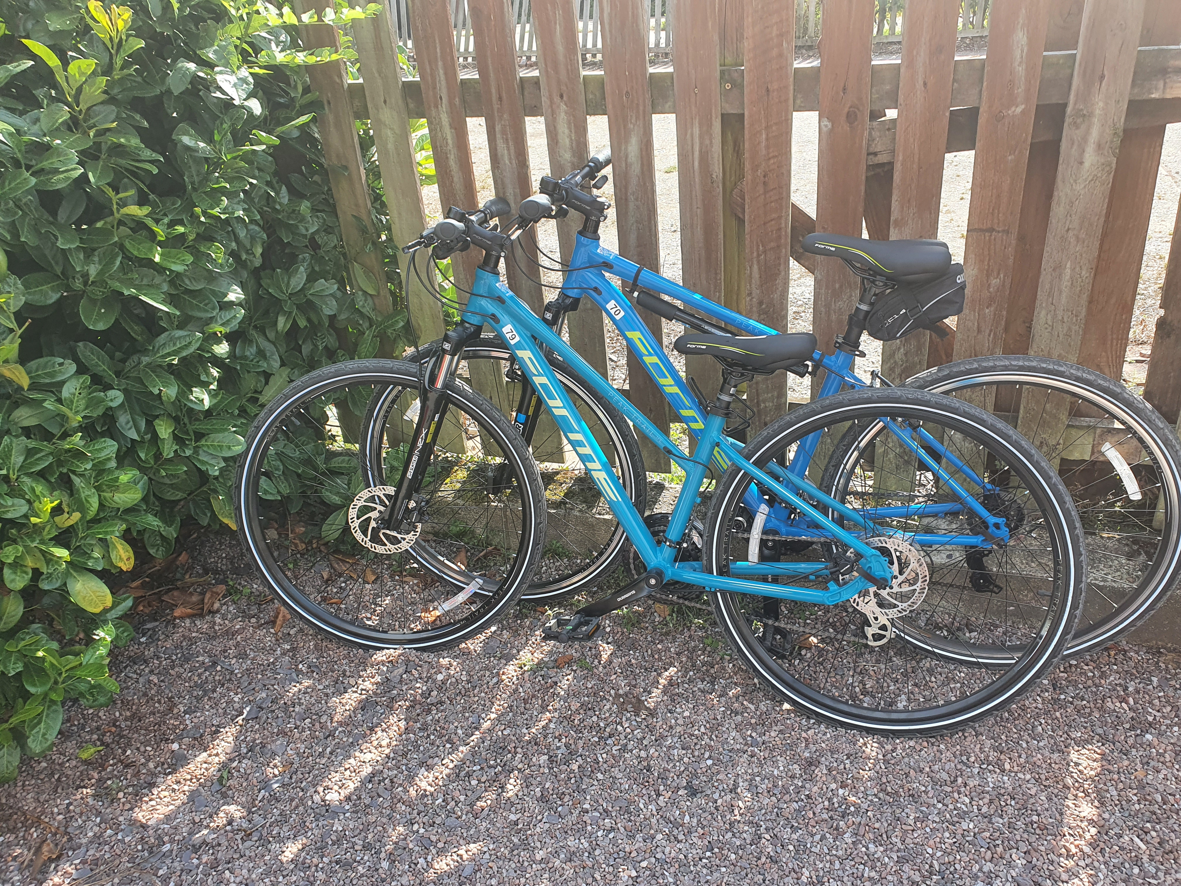 Brand new hire bikes