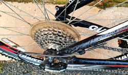 Replaced chain and cassette