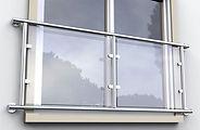 ASAP Fabrications balustrade stainless steel juliet balcony