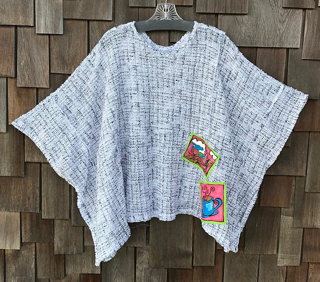 CEC103RS - Positively Pretty Poncho - One Size