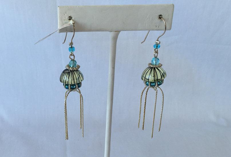 Jelly fish-ish Earrings - E3372-1