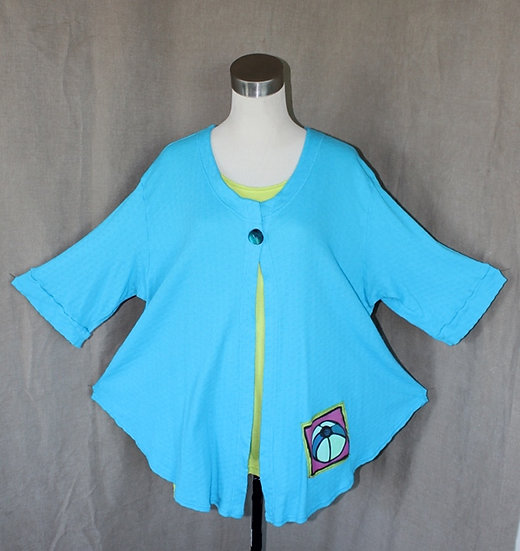 Just Jacket! - Totally Turquoise in XLarge