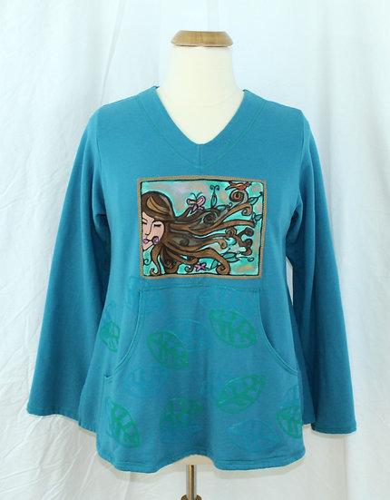 Spring Garden Goddess - Blooming Sweatshirt