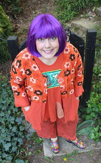 Posey Jacket - Orange Blossom Mix