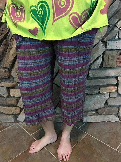 Pucker Up Pant - Sz 1 - Green Berry Mix (#4)