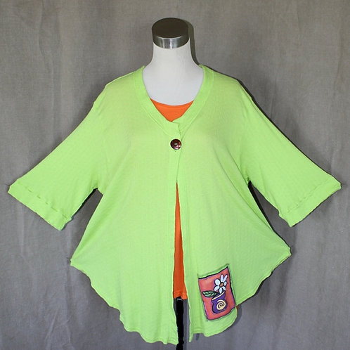 Just Jacket! - Lotsa Lime in XLarge