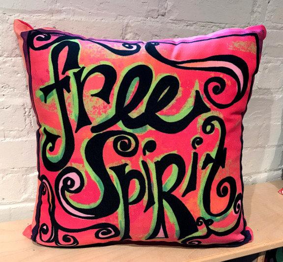 Pillow - Free Spirit - Pink