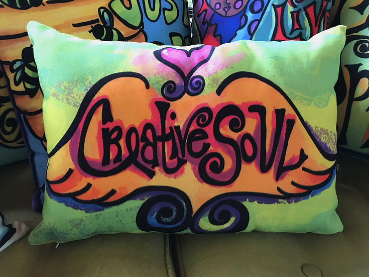 Pillow - Creative Soul - Lime