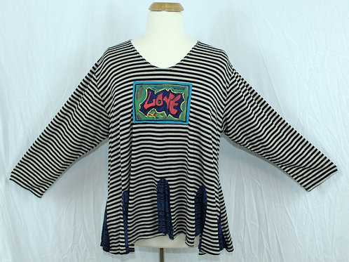 Stripey Flip Out Tunic