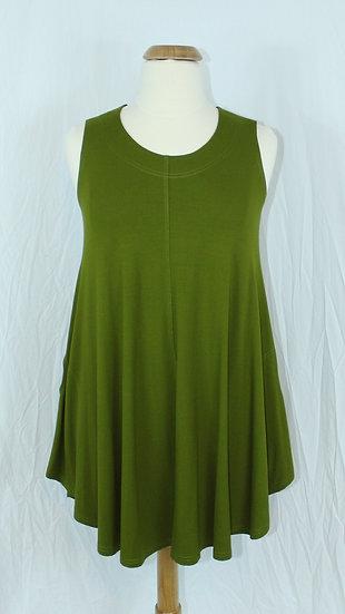 Ralston Polly Tunic/Dress Chartruese #93012 - M