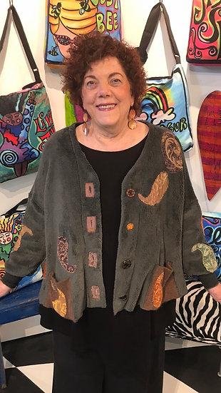 MCHR - Paisley Fur Jacket