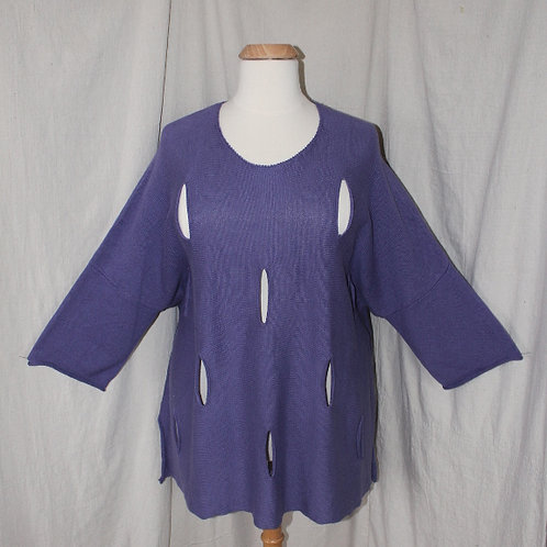 Cheyenne Sweater in Purple - #SW0189
