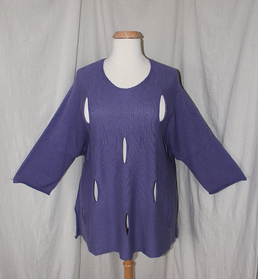 Cheyenne Sweater in Purple - #SW0189