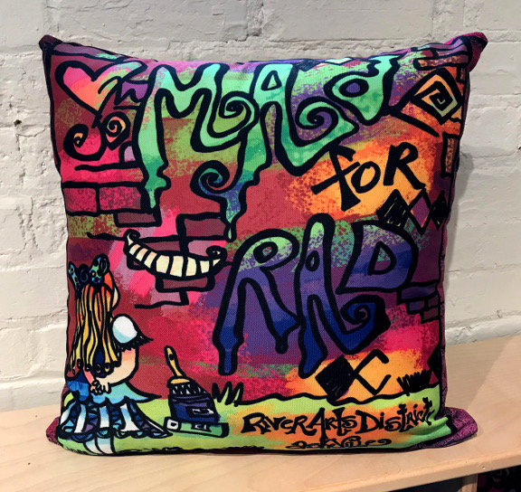 Pillow - Mad for Rad
