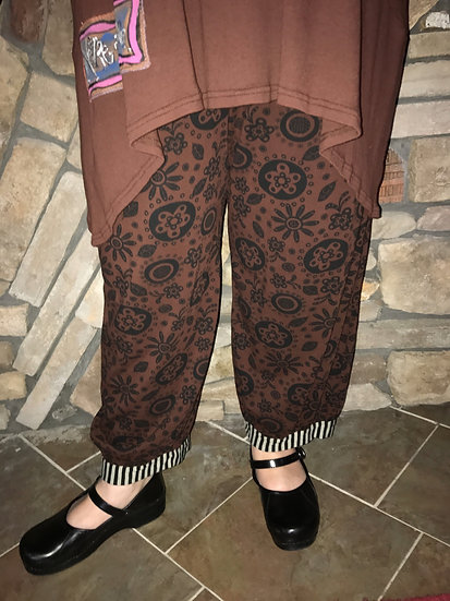 Alice  Party Pant - Sz 1 - Doormouse Brown