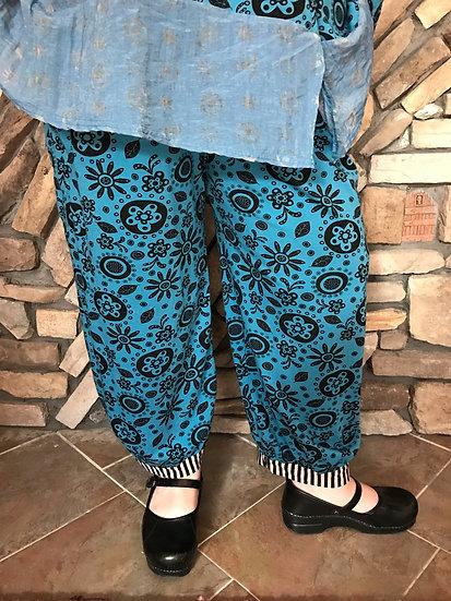 Alice  Party Pant - Sz 3 - Alice Blue