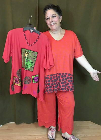 Outfit 4 - 3 pc. Orange - Size 1