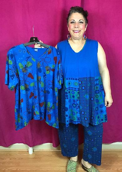 3 Piece Outfit - Brilliant Blue (#32)