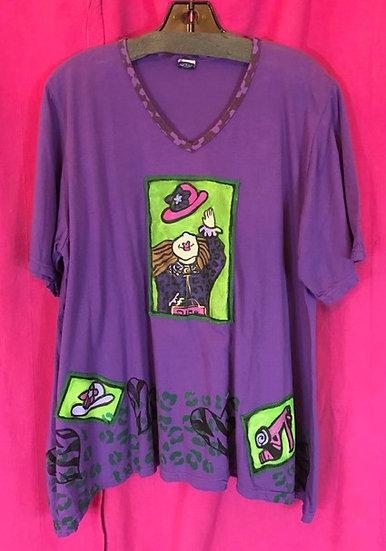 64 - Sun Tee - Purple Size 1