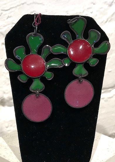 MFC - Squiggles and Splats Earring