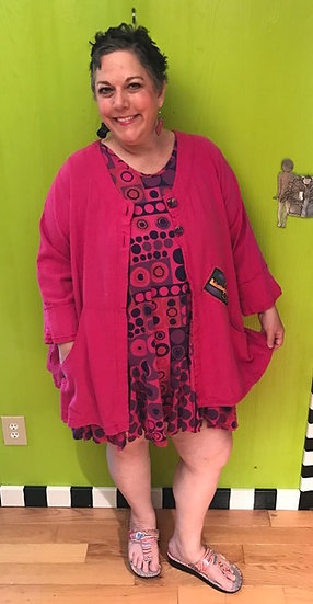 54 - 2 pc Outfit  - Flamingo Pink
