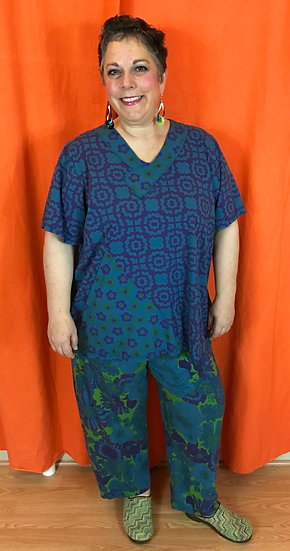 2 Piece Outfit - Totally Teal  Sz 3 (#50)