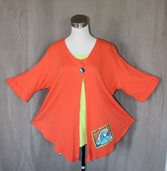 Just Jacket! - Outrageous Orange in Large