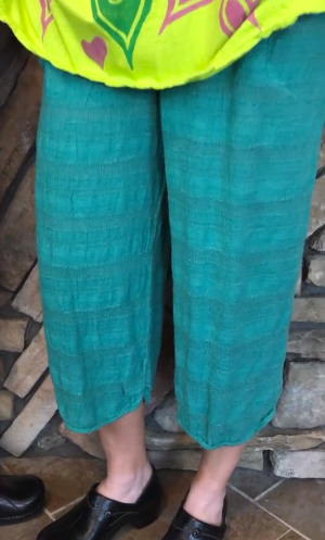 Play Date Pant - Size 1 - Jade (#30)