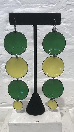 MFN - 4 Dot Drop Green/Yellow Mix