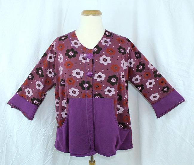 Posey Jacket - Violet Mix