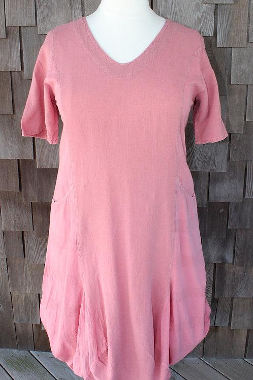Long Bubble Hem Dress (#06-1316)
