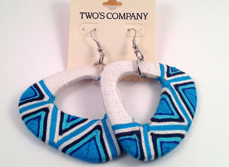 Two's Company Tribal Earrings
