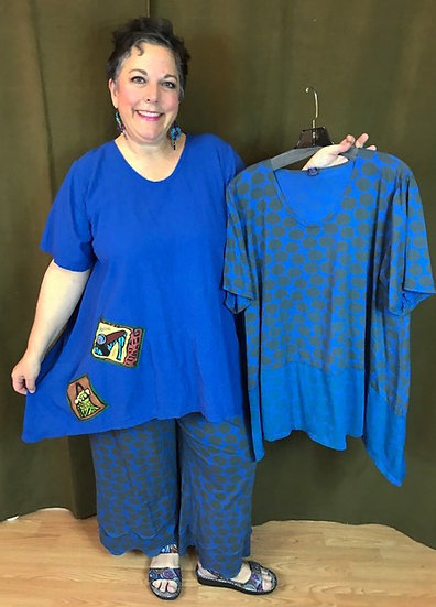 Outfit 8 - 3 pc. Blue - Size 1/2