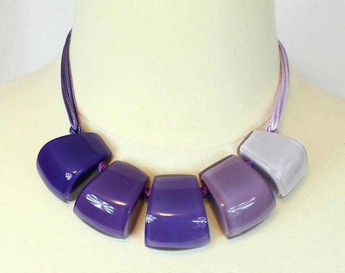 Zsiska Purples Necklace