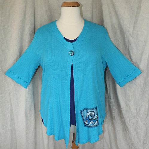 Just Jacket! - Totally Turquoise in Large