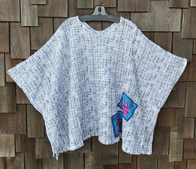 CEC101RS - Positively Pretty Poncho - One Size