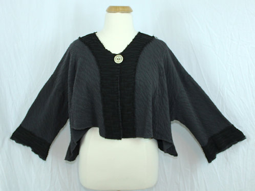 Street Style Jacket in Grey/Black