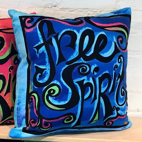 Pillow - Free Spirit Blue